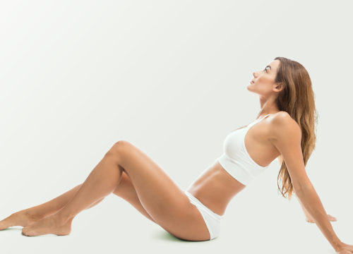 Woman's body after Smartlipo treatments